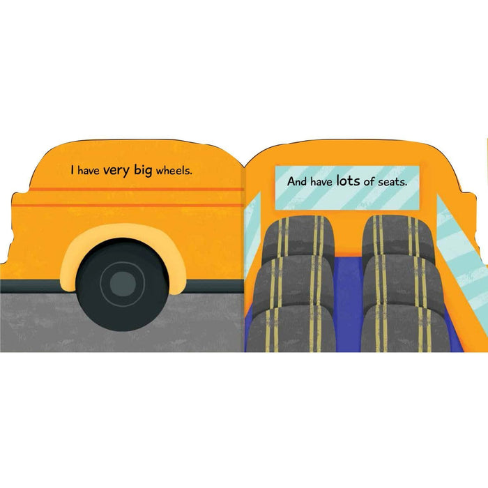 The Nestery: Pegasus - Things That Move Shaped Board Books - Bus