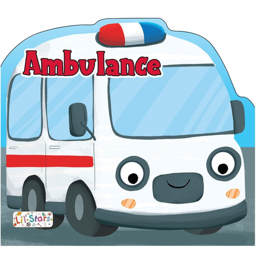 The Nestery: Pegasus - Things That Move Shaped Board Books - Ambulance