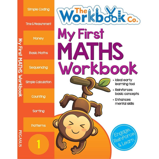 The Nestery: Pegasus - My First Workbooks - My First Maths Workbook