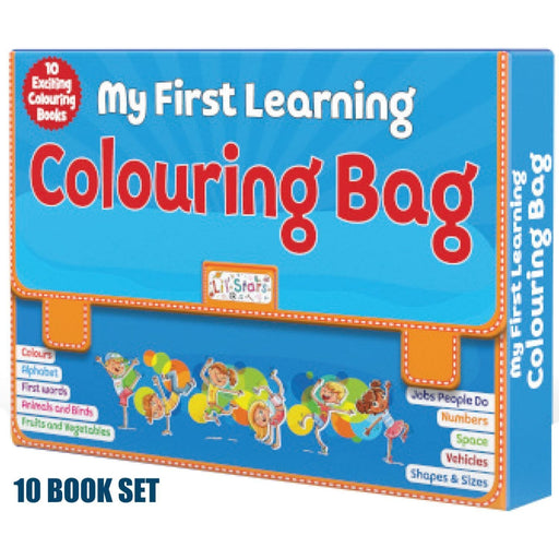 The Nestery: Pegasus - Pegasus Library Box - My First Learning Colouring Bag