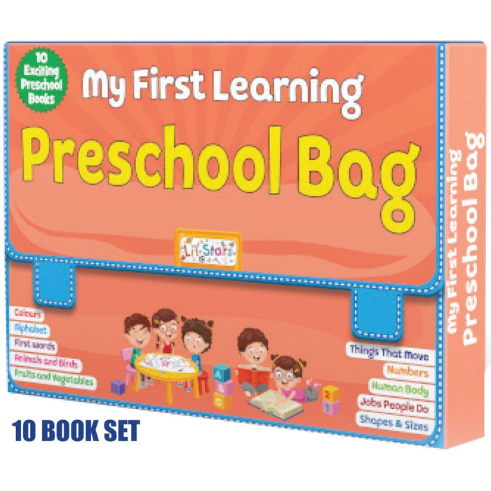 The Nestery: Pegasus - Pegasus Library Box - My First Learning Preschool Bag