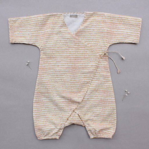 The Nestery brings handwoven pure cotton rompers in soothing herbal colours and fun patterns for infants and babies.
