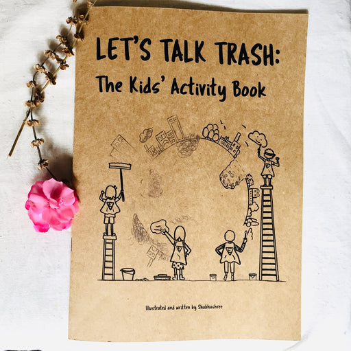 The Nestery curates online, An one-of-a-kind activity book that tackles issues that are more relevant than ever before. Sustainability, Trash management, being eco-conscious. Start conversations around important issues as early as possible