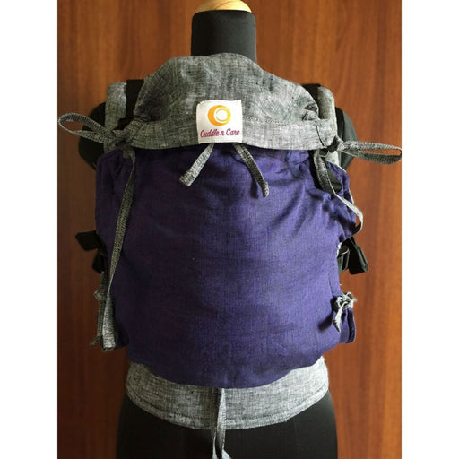 The Nestery: Cuddle N Care - Amethyst Linen (Flexi Baby Carrier)