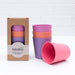 The Nestery: Bamboo Dinnerware - Set Of 4 Bamboo Kids Drinking Cups