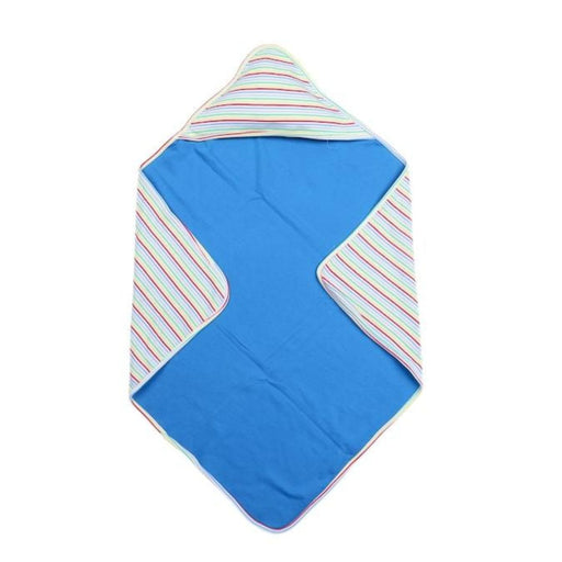 The Nestery : Greendigo - Hooded Blanket - Baby Boy