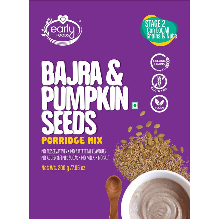 PORRIDGE MIX - BAJRA AND PUMPKIN SEEDS - [200 GMS]