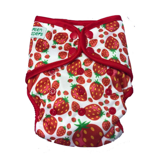 The Nestery : Green Diapers - Infinit Aio - Berry Special