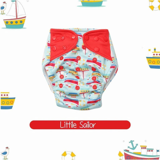 The Nestery : A Toddler Thing - Bumkin 2.0 Diaper - Little Sailor