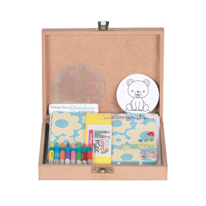 The Nestery :Craftopedia - Colour In Greeting Cards & Keepsake Box