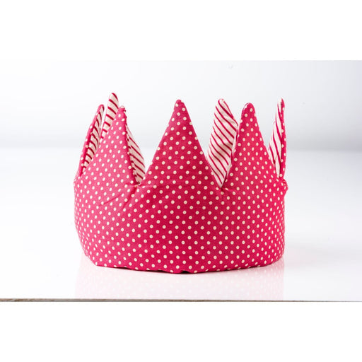 The Nestery : Bobtail - Crown - Pink Stripes