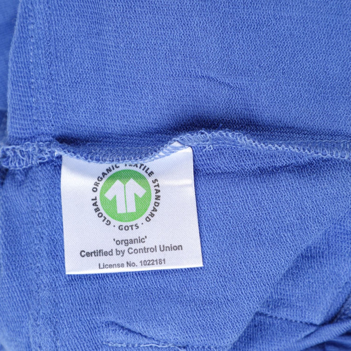 The Nestery : Greendigo - Shorts With Flap Pockets - Classic Blue