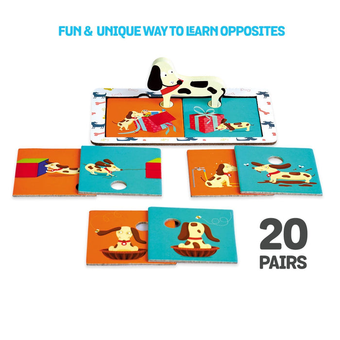 CLEVER DOG (OPPOSITE PAIRS PUZZLE)