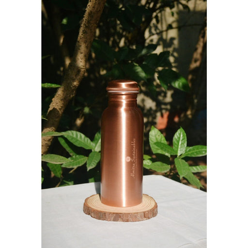 The Nestery :Almitra Sustainables - Copper Bottle - 750 Ml