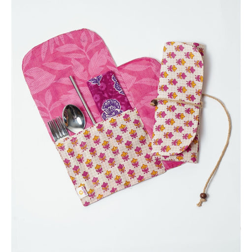 The Nestery: Cuddle N Care - Cutlery Pouch (Assorted Prints)