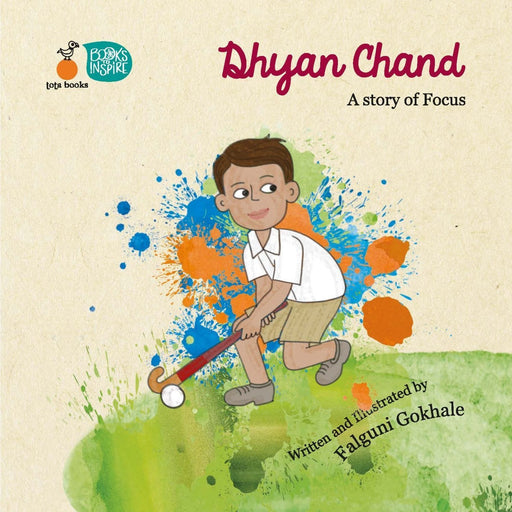 The Nestery: Tota Books - Dhyan Chand - A Story Of Focus