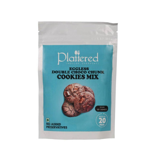 The Nestery : Plattered - Double Choco Chunk Cookie Mix