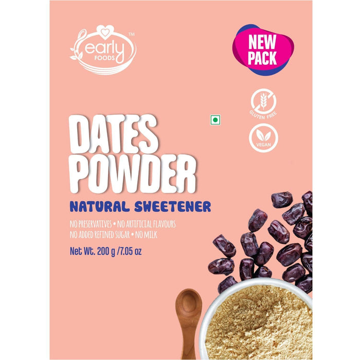 Natural Sweetener - Dry Dates Powder - [200 Gms]