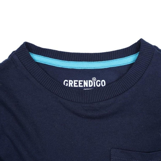 The Nestery : Greendigo - Long Sleeve Tshirt - Deep Sea