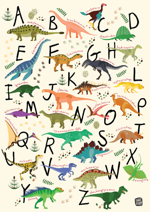 The Nestery brings fun educational posters with stunning illustrations ideal for young children.