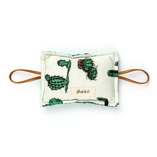 The Nestery : Bobtail - The Cushy Closer Door Cushion -  Cactus And Green