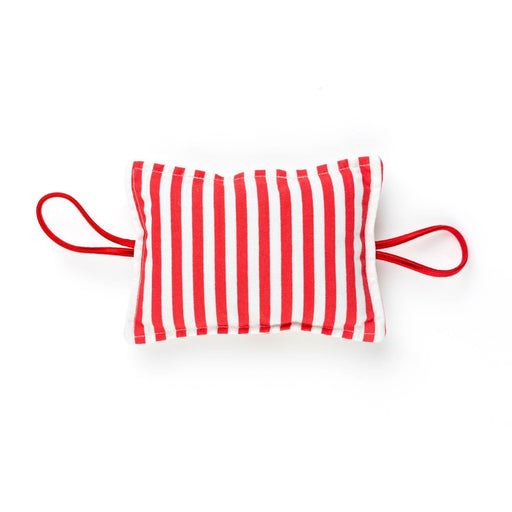 The Nestery : Bobtail - The Cushy Closer Door Cushion - Cherry With Stripes