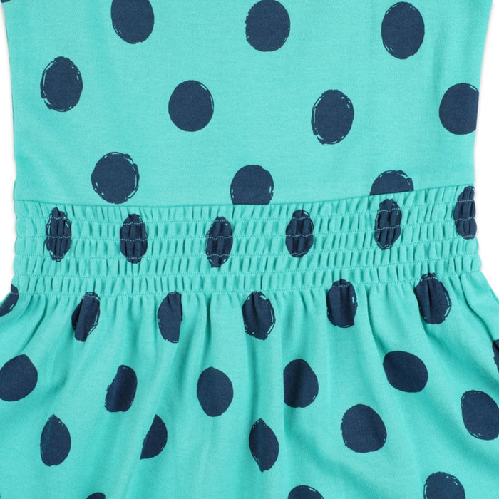 The Nestery : Greendigo - Strappy Dress - Dotty