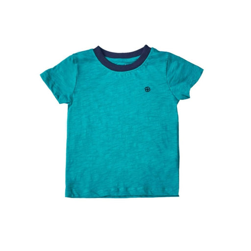 The Nestery : Greendigo - Playtime Tshirt With Half Sleeves - Emerald