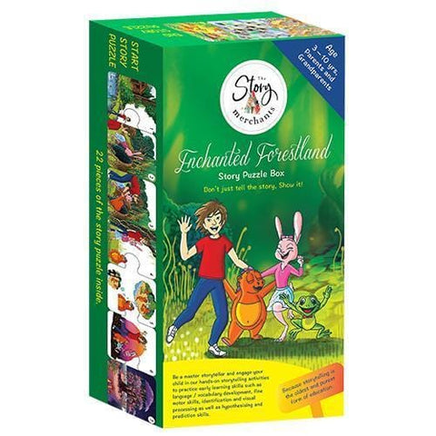 Enchanted Forestland Puzzle Box