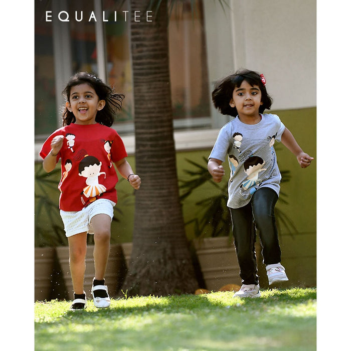 The Nestery : Equalitee - Tshirt - Activity Red