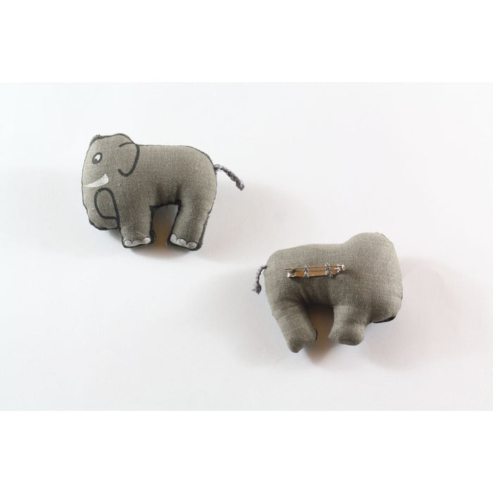 The Nestery : Pashoo Pakshee - Jungle Brooch : Eshaan - The Elephant