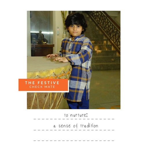 The Nestery : Oriori Kids - Check Mate Festive Box - Boys