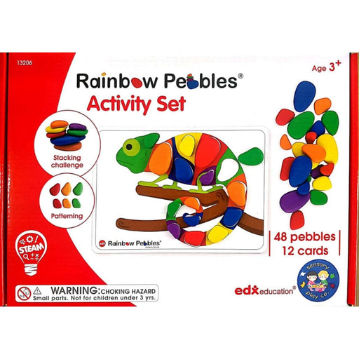 The Nestery: Rainbow Pebbles Activity Set