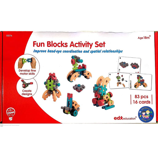The Nestery: Fun Blocks Activity Set (83 Pcs)