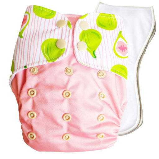 The Nestery : Bouncing Peaches - Reusable Cloth Diaper - Go Fig-ure