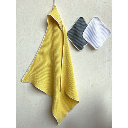 The Nestery : Whitewater Kids - Hooded Towel Set - Yellow