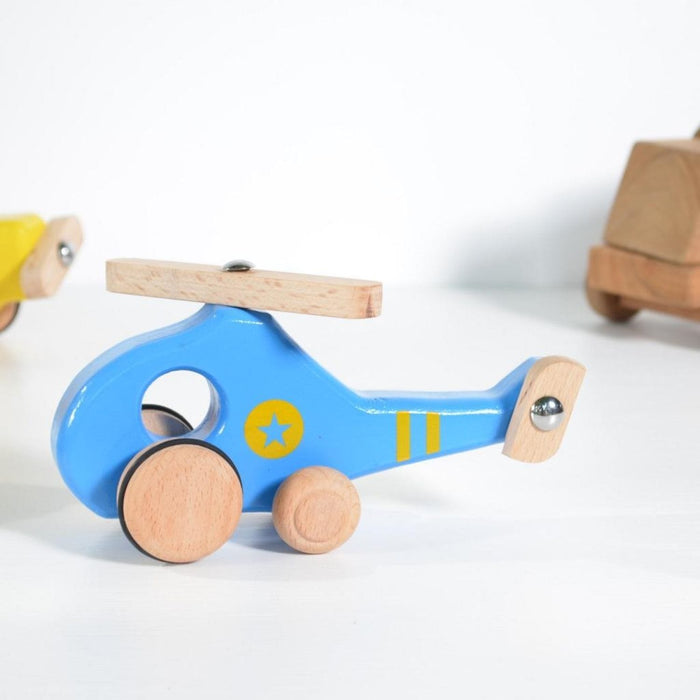 The Nestery : Chitrani - Helicopter Push Toy