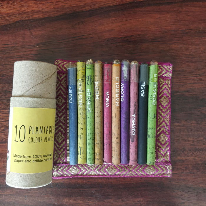 Plantable Seed Colour Pencils
