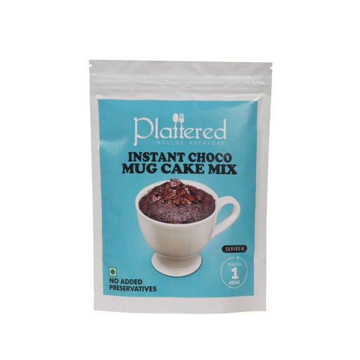 The Nestery : Plattered - Vegan Instant Choco Mug Cake Mix