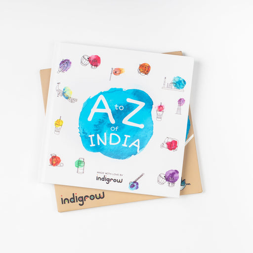 The Nestery curates online, an alternative alphabet picture book for infants, toddlers, preschoolers that takes your kids on a magical journey through India as they learn the A to Z alphabets.