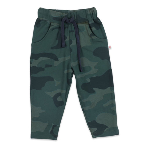 The Nestery : Greendigo - Sporty Joggers - Jungle Camo