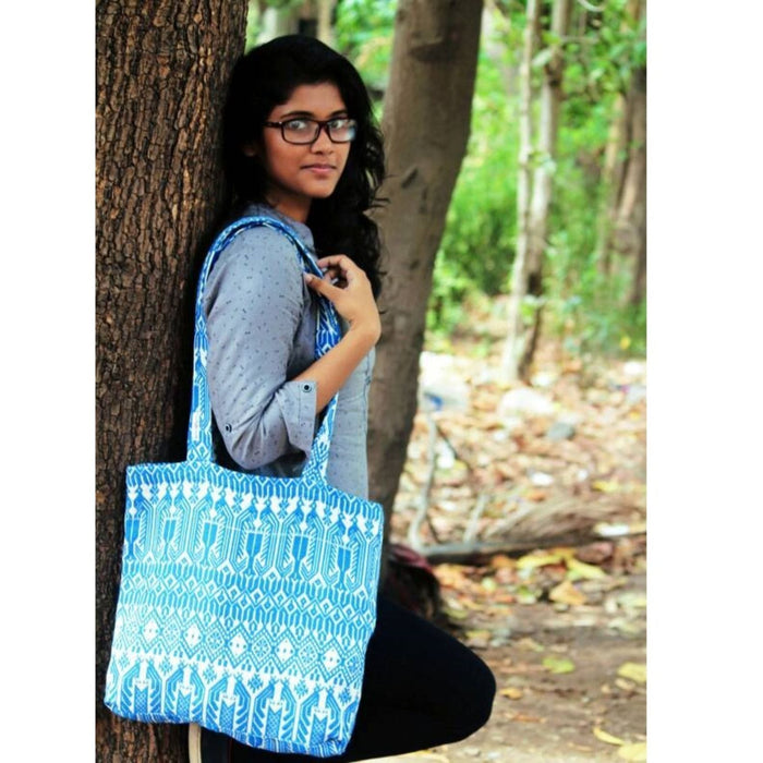 The Nestery : Almitra Sustainables - Kalapi Tote Bag