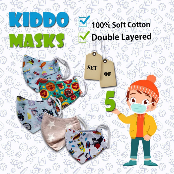 The Nestery : Zoli Zabla & More - Kiddo Face Masks - The Splendid 5