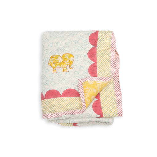 The Nestery : Masaya - Single Size Quilt : Baby Elle - Yellow