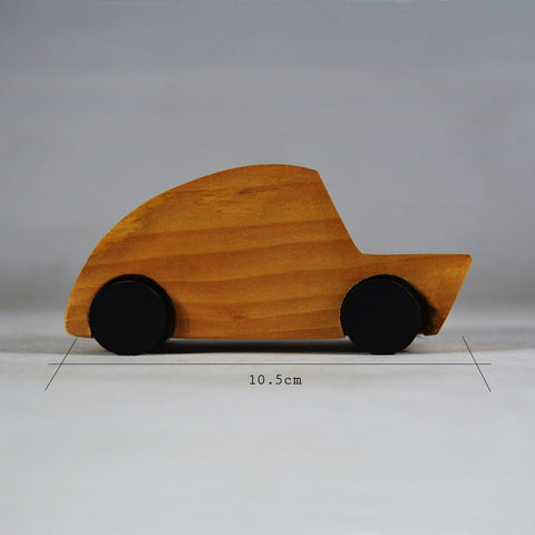 Wooden Toy Classic Car Set of 4