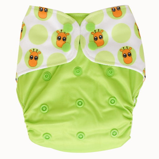 The Nestery : Bouncing Peaches - Reusable Cloth Diaper - Melman