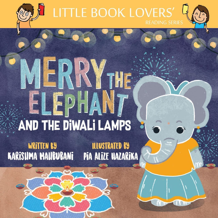 The Nestery: Ms Moochie  - Merry The Elephant And The Diwali Lamps