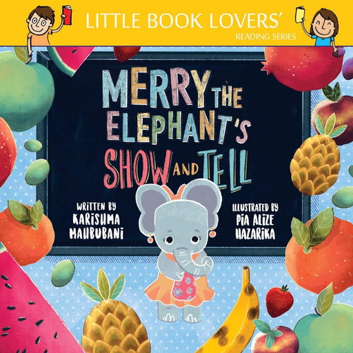 The Nestery: Ms Moochie  - Merry The Elephant's Show And Tell