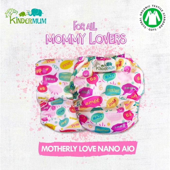 The Nestery: Kindermum - Value Pack - Set of 2 Nano All-In-One Diaper