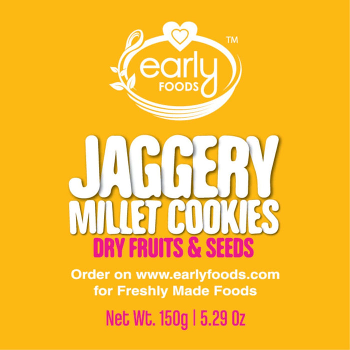 Cookies - Organic Dry Fruits And Seeds Jaggery - [150 Gms X 2]